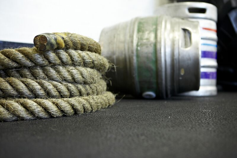 Battle Rope and Keg